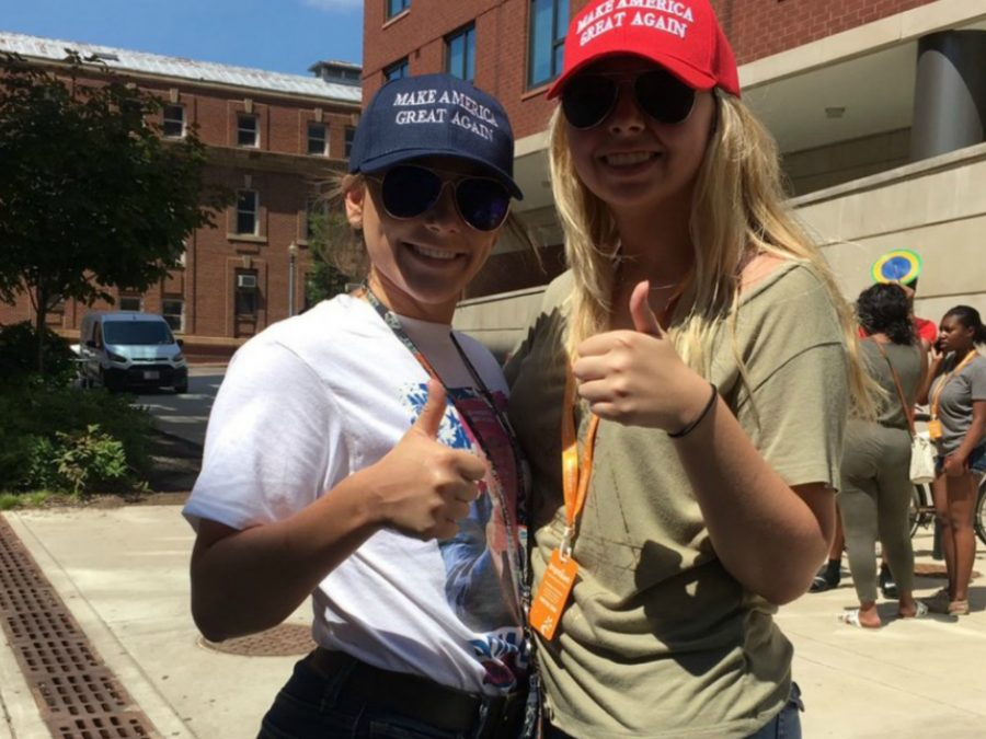 Not Today Sis! White Walkers Pop Up On Howard University Campus with 'Make America Great Again' Hats & Get Their Feelings Hurt