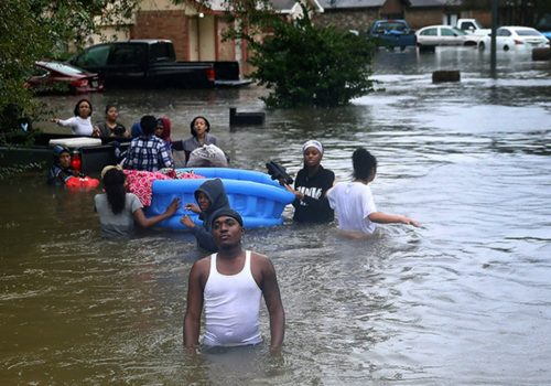 The Bystander and Hurricane Harvey