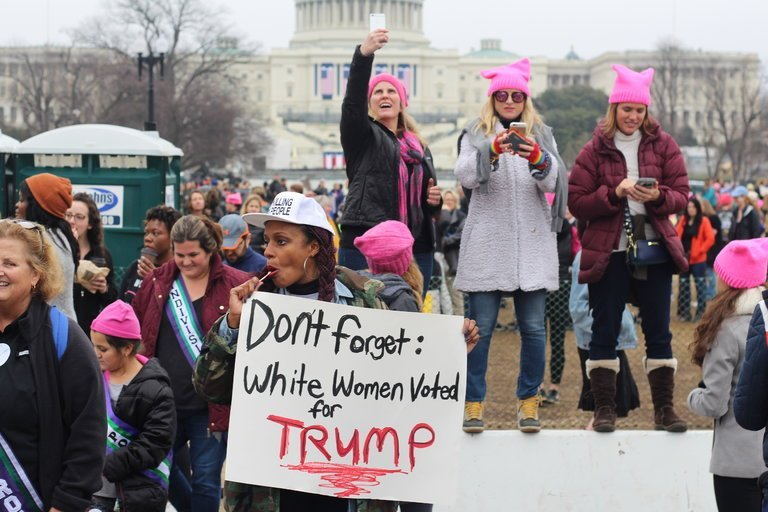Dont forget: White Women Voted For Trump