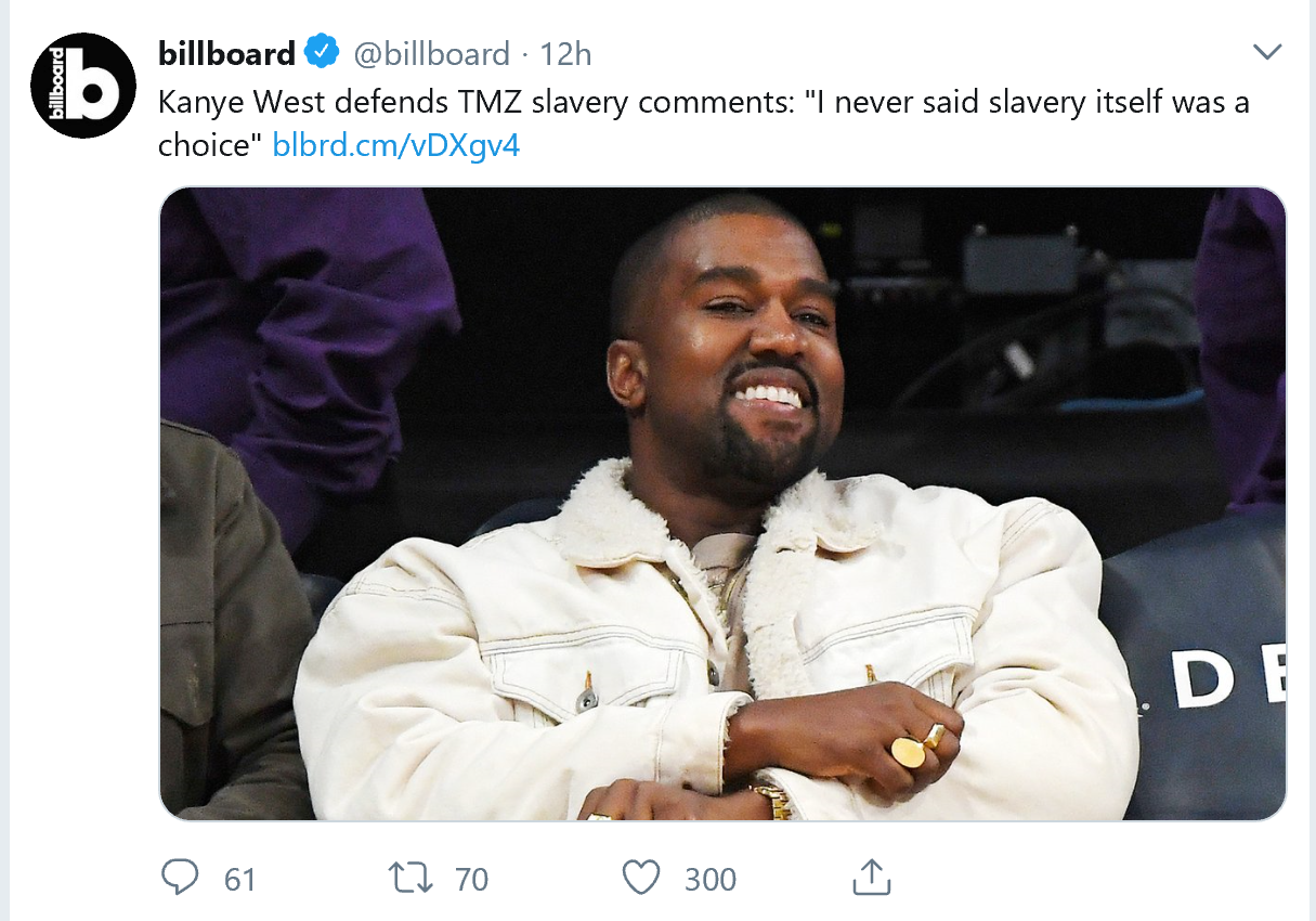 Kanye West Retraction
