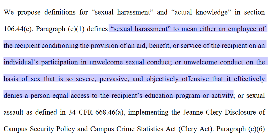 The New Definition of Sexual Assault