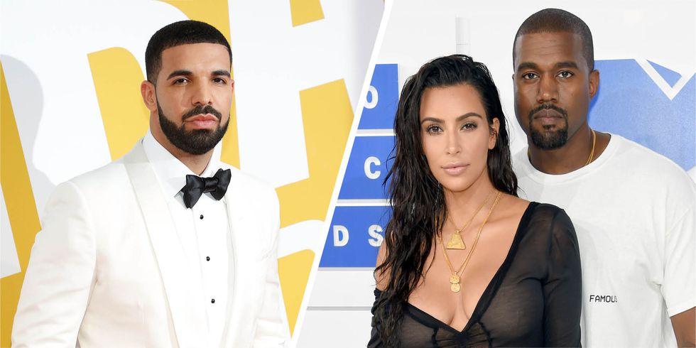 Drake Kim Kanye