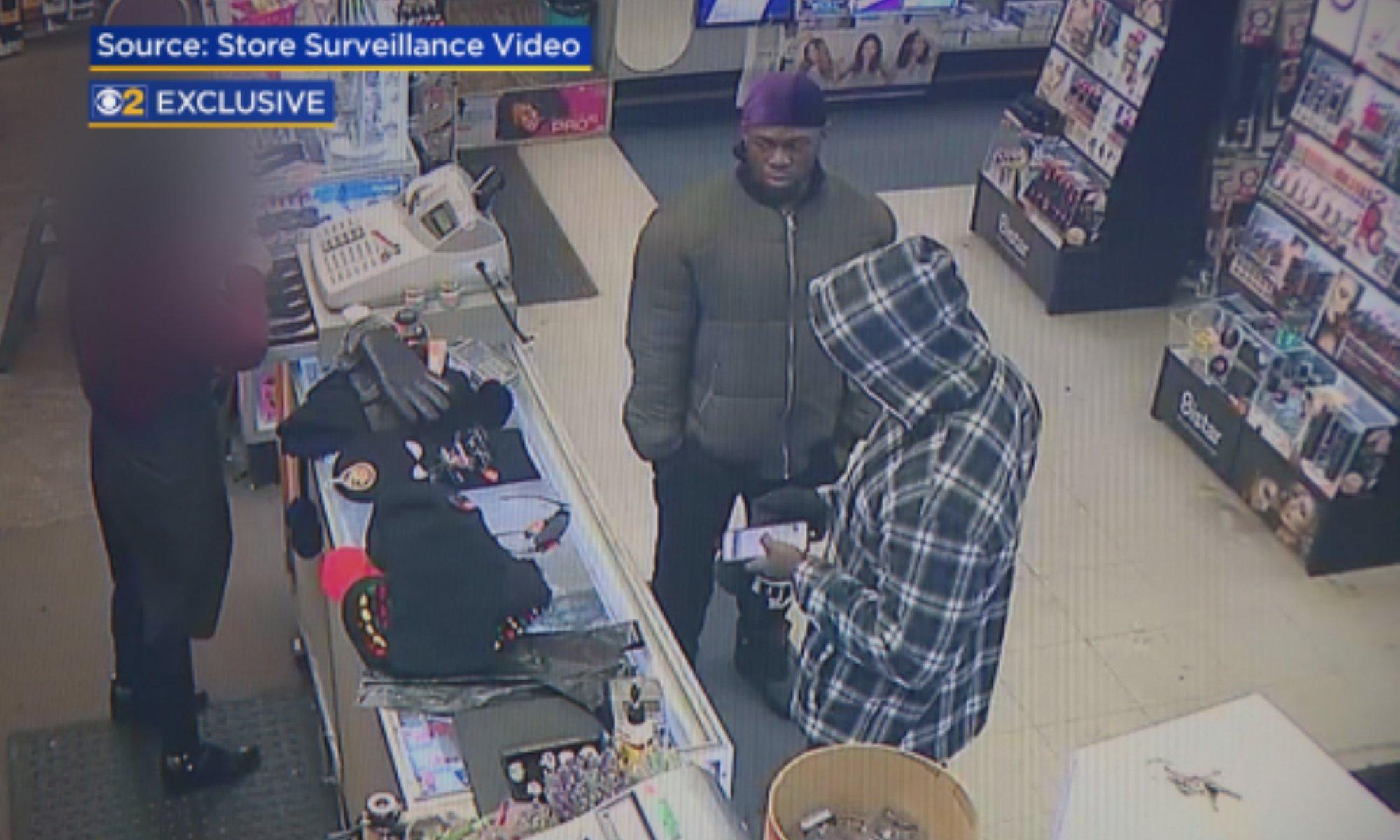 Jussie Store Surveillance
