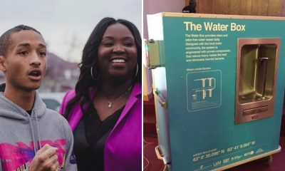 Jaden Smith Water Box