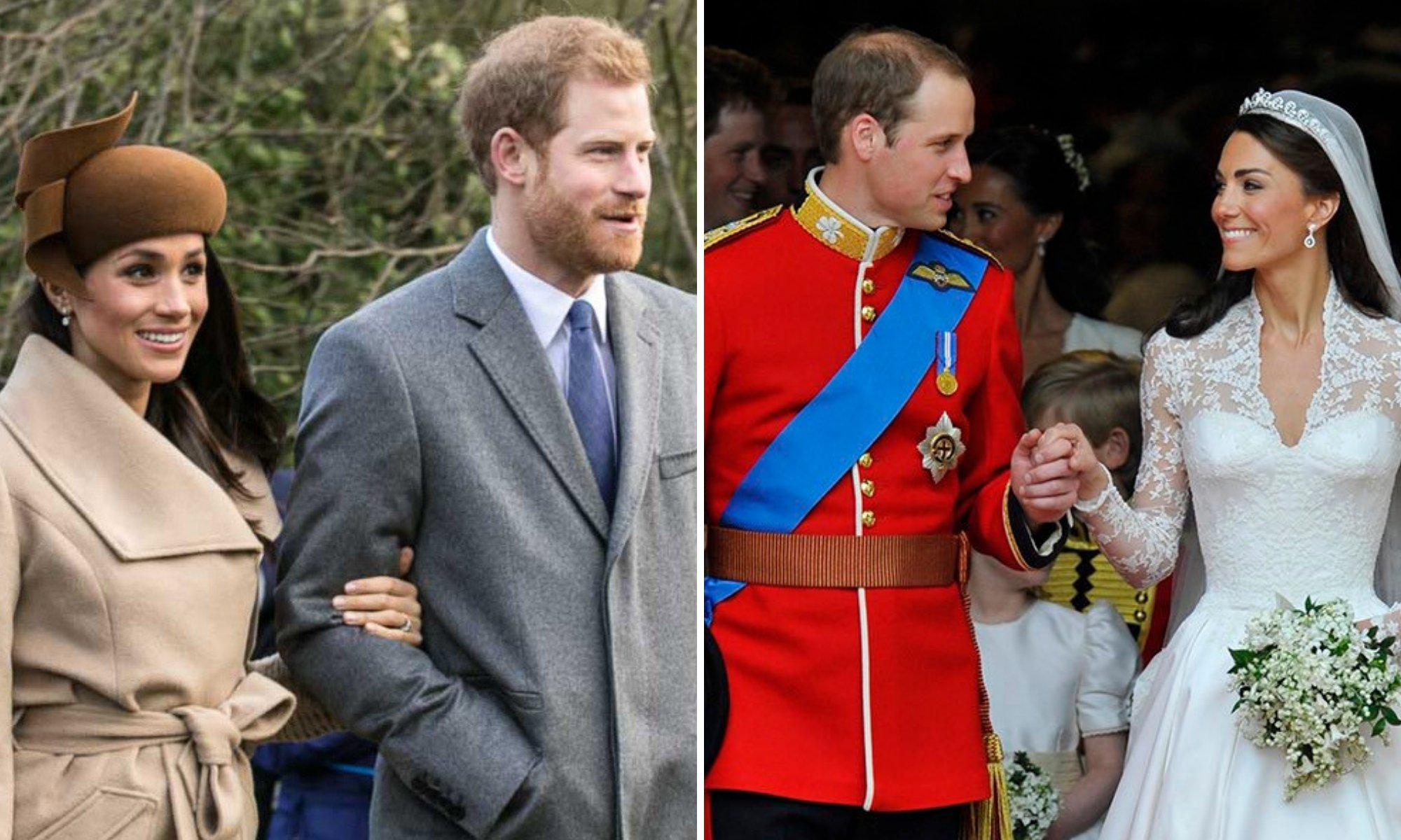 Prince William Meghan Markle Catherine Middleton Prince Harry